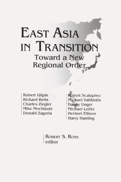 (ebook) East Asia in Transition: Toward a New Regional Order