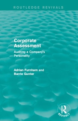 Corporate Assessment (Routledge Revivals)