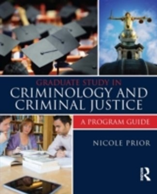 (ebook) Graduate Study in Criminology and Criminal Justice