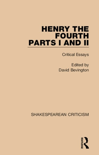 Henry IV, Parts I and II