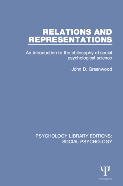 Relations and Representations