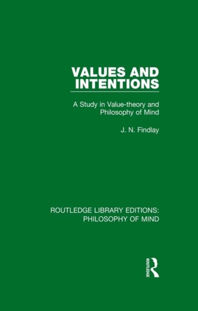 (ebook) Values and Intentions