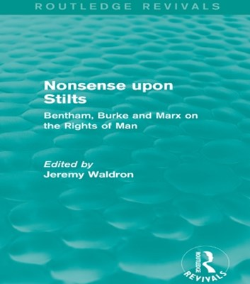 Nonsense upon Stilts (Routledge Revivals)