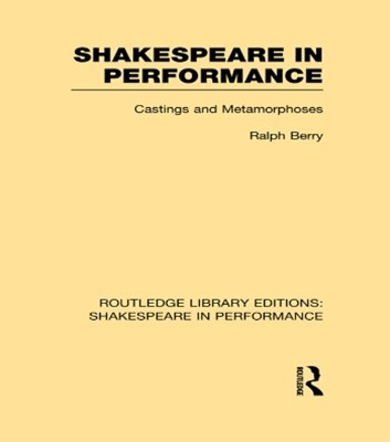 (ebook) Shakespeare in Performance