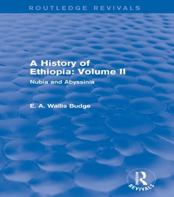 A History of Ethiopia: Volume II (Routledge Revivals)