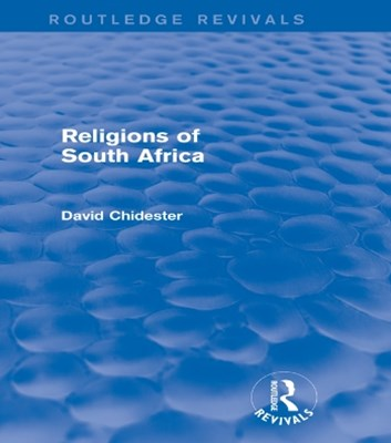 Religions of South Africa (Routledge Revivals)
