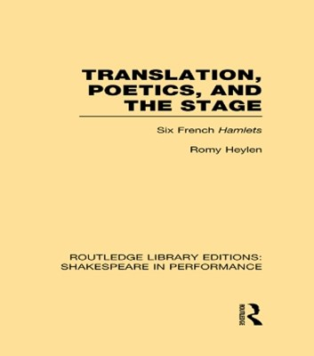(ebook) Translation, Poetics, and the Stage