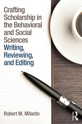 (ebook) Crafting Scholarship in the Behavioral and Social Sciences