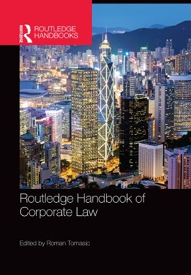 (ebook) Routledge Handbook of Corporate Law