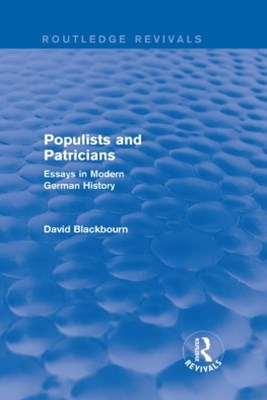 Populists and Patricians (Routledge Revivals)