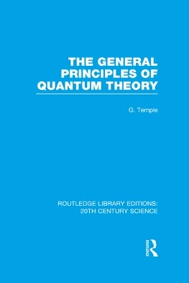 General Principles of Quantum Theory