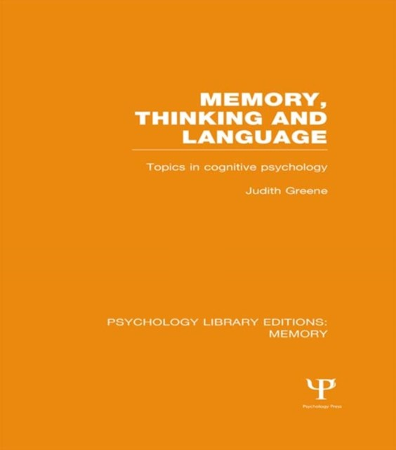Memory, Thinking and Language (PLE: Memory)