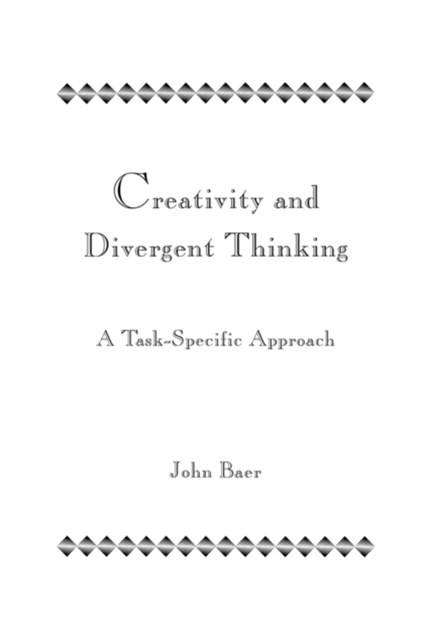 Creativity and Divergent Thinking