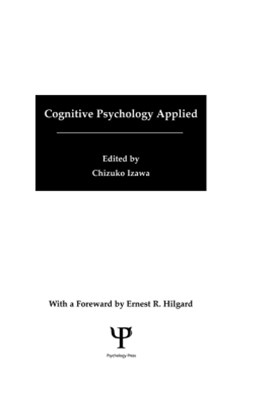 Cognitive Psychology Applied