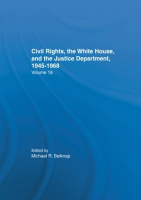 Justice Department Civil Rights Policies Prior to 1960