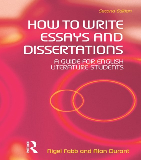 (ebook) How to Write Essays and Dissertations
