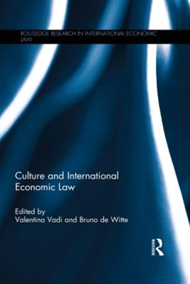 (ebook) Culture and International Economic Law