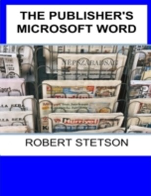 Publisher's Microsoft Word
