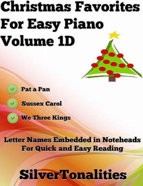 (ebook) Christmas Favorites for Easy Piano Volume 1 D
