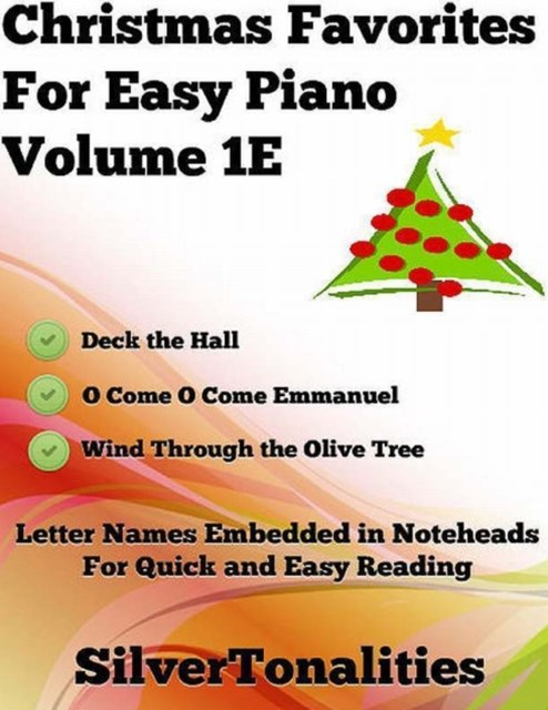 (ebook) Christmas Favorites for Easy Piano Volume 1 E