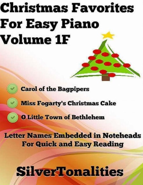 (ebook) Christmas Favorites for Easy Piano Volume 1 F