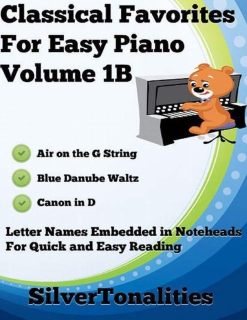 (ebook) Classical Favorites for Easy Piano Volume 1 B