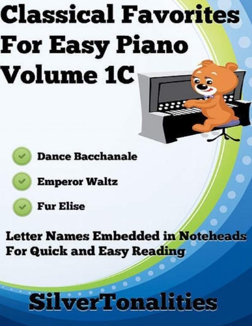 (ebook) Classical Favorites for Easy Piano Volume 1 C