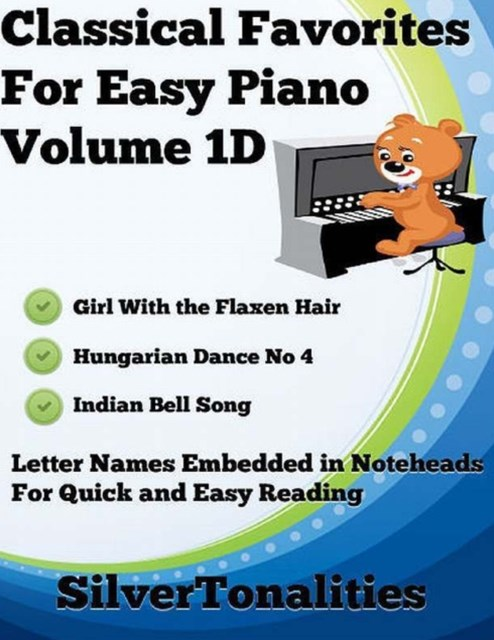 (ebook) Classical Favorites for Easy Piano Volume 1 D