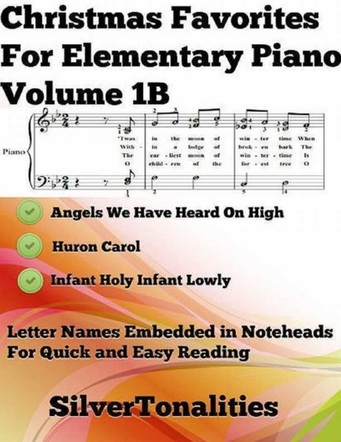 (ebook) Christmas Favorites for Elementary Piano Volume 1 B
