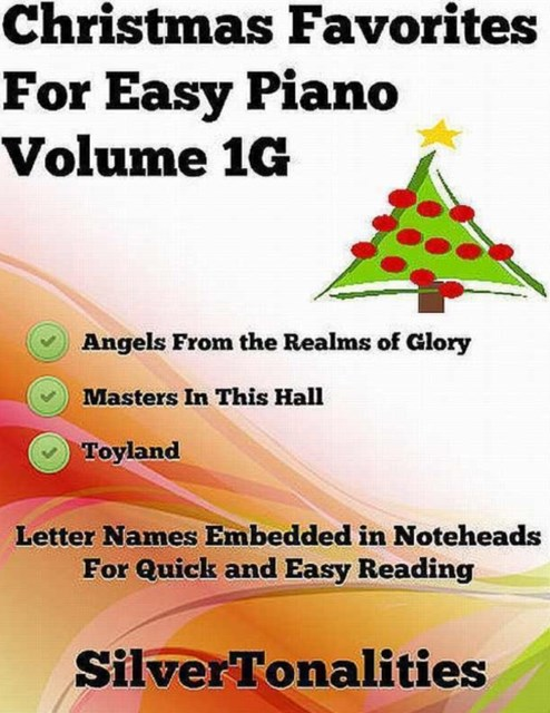 (ebook) Christmas Favorites for Easy Piano Volume 1 G