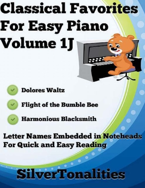 (ebook) Classical Favorites for Easy Piano Volume 1 J