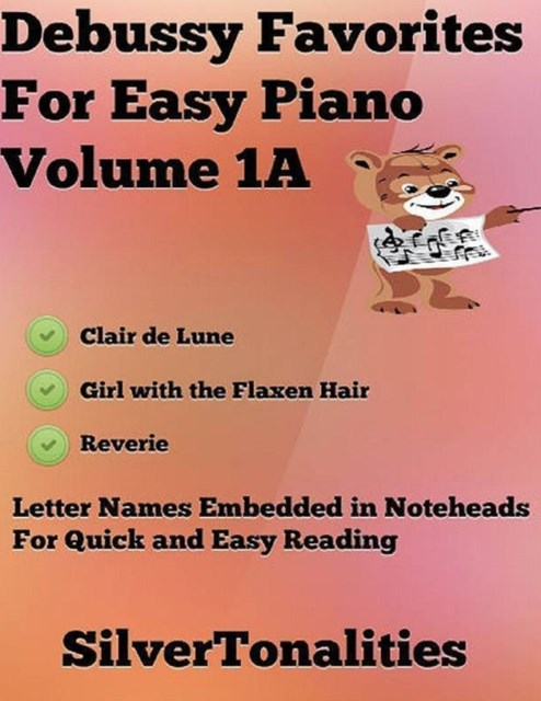 Debussy Favorites for Easy Piano Volume 1 A