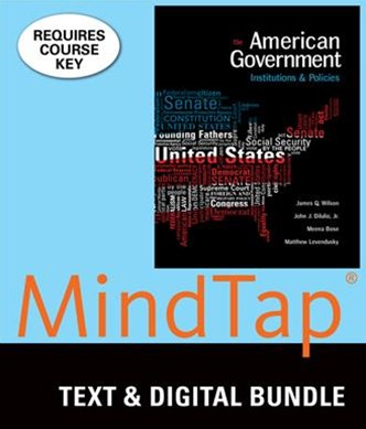 American Government + Mindtap Political Science, 6-month Access