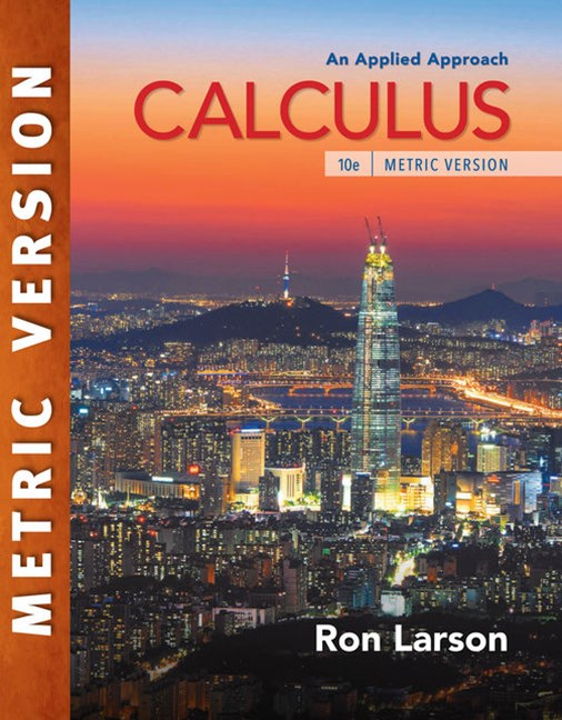 Calculus: An Applied Approach, International Metric Edition