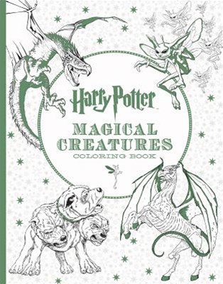 Harry Potter - Magical Creatures Coloring Book
