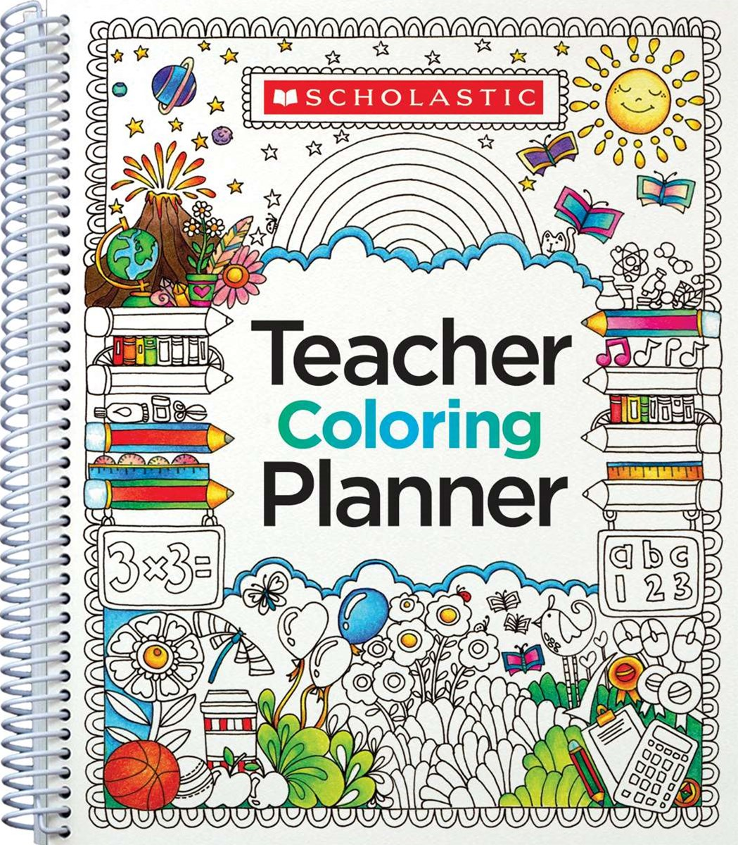 Teaching Coloring Planner