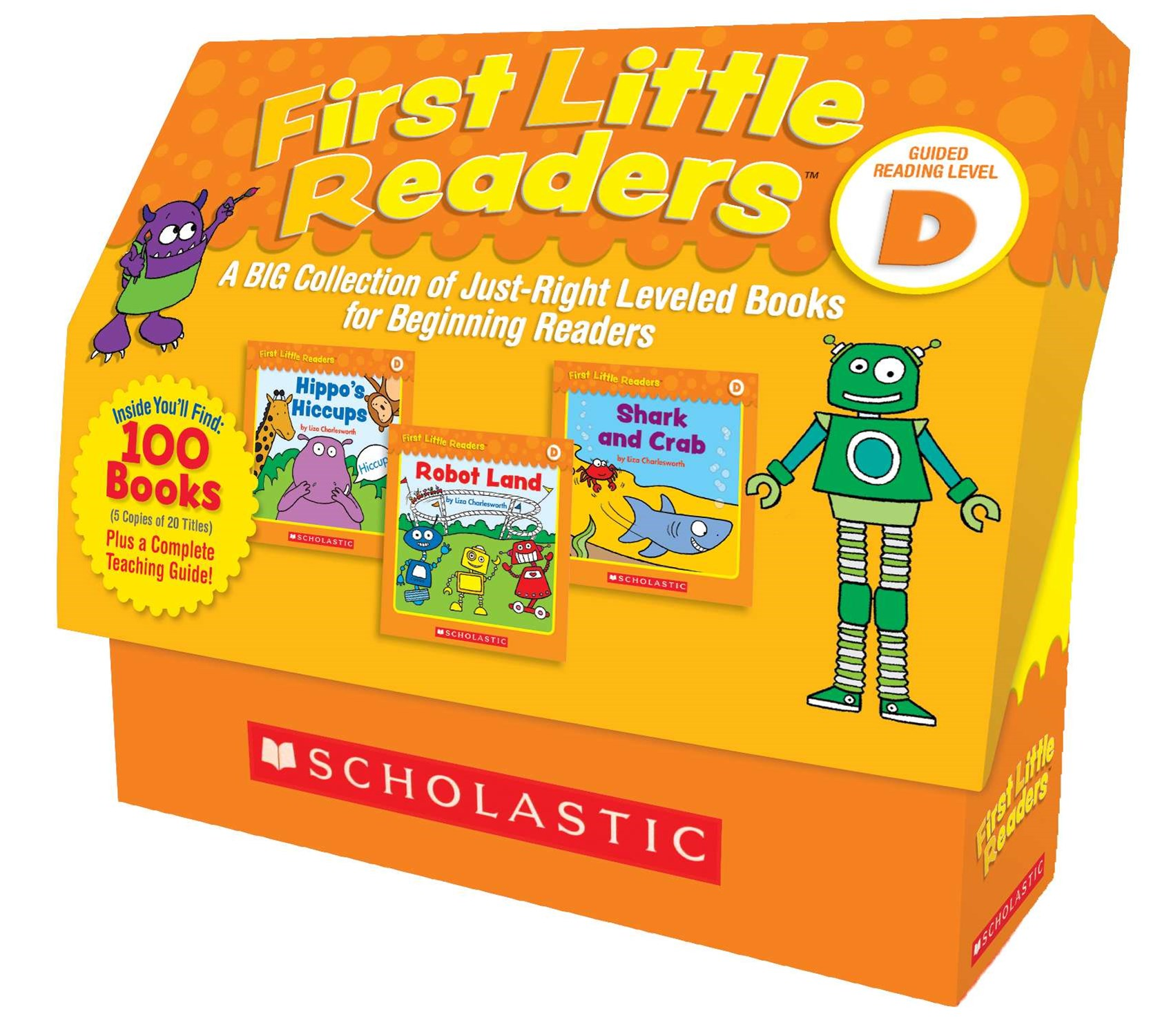 A BIG Collection of Just-Right Leveled Books for Beginning Readers