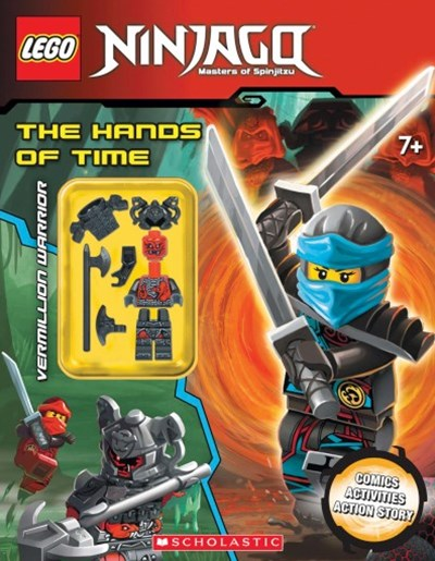 LEGO Ninjago: The Hands of TIme with minifigure