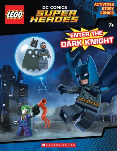 LEGO DC Super Heroes: Enter the Dark Knight Activity Book with Minifigure