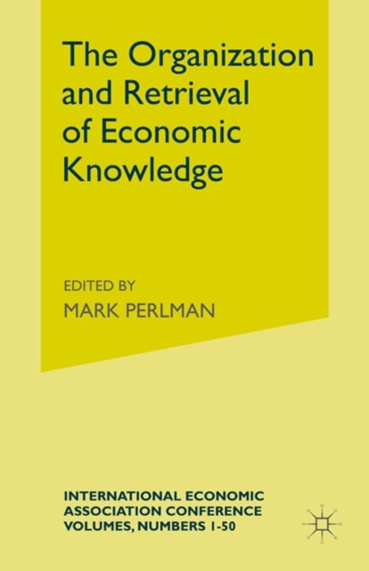 Organization and Retrieval of Economic Knowledge