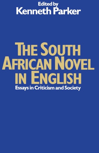 South African Novel in English