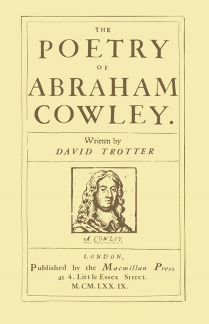 Poetry of Abraham Cowley