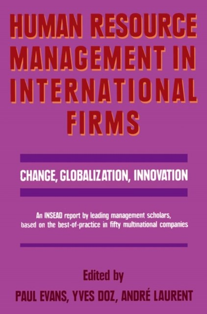 Human Resource Management in International Firms