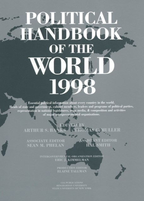 Political Handbook of the World 1998