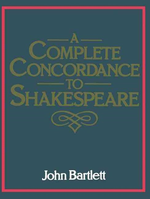 (ebook) Complete Concordance to Shakespeare