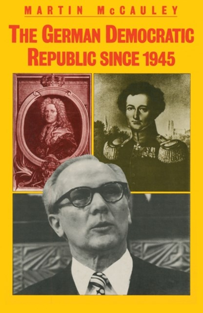 (ebook) German Democratic Republic since 1945