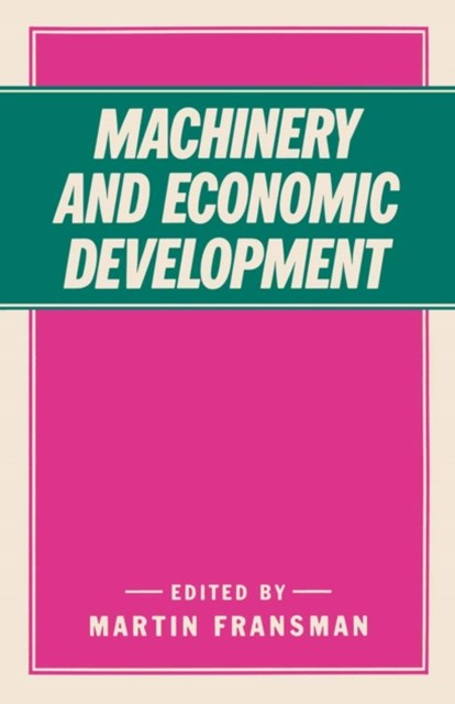 Machinery and Economic Development