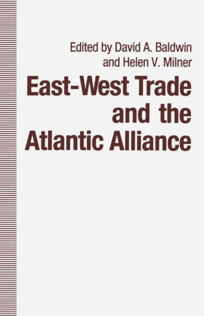 East-West Trade and the Atlantic Alliance
