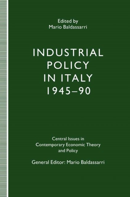 (ebook) Industrial Policy in Italy, 1945-90