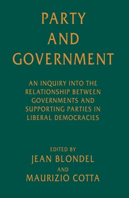 (ebook) Party and Government